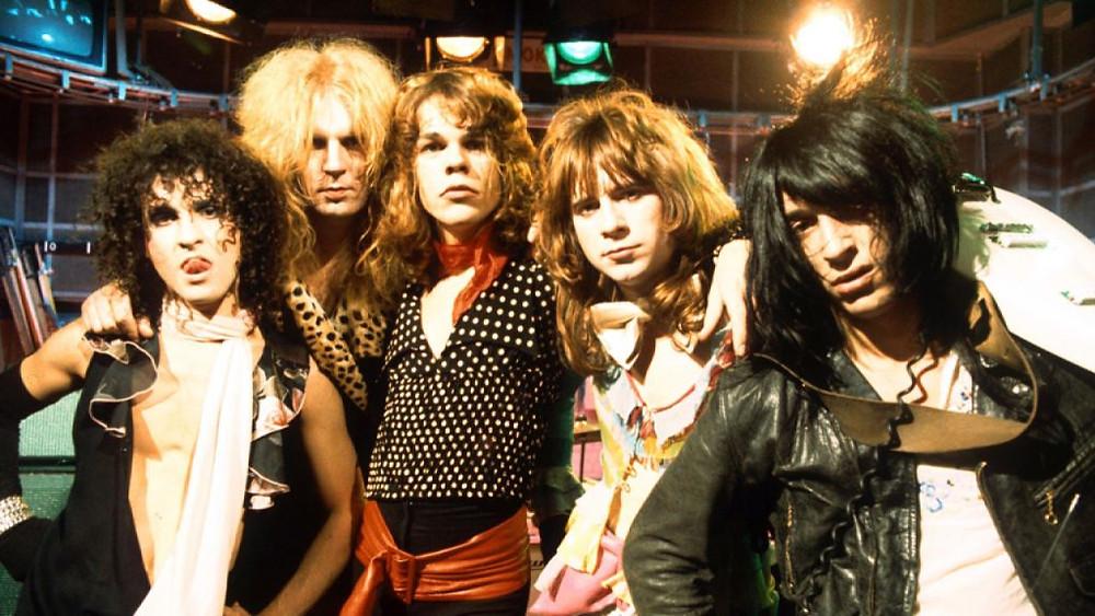 Музыканты из группы New York Dolls