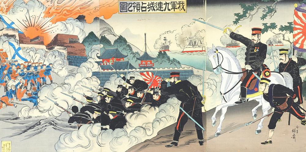 Русско-японская война: картина