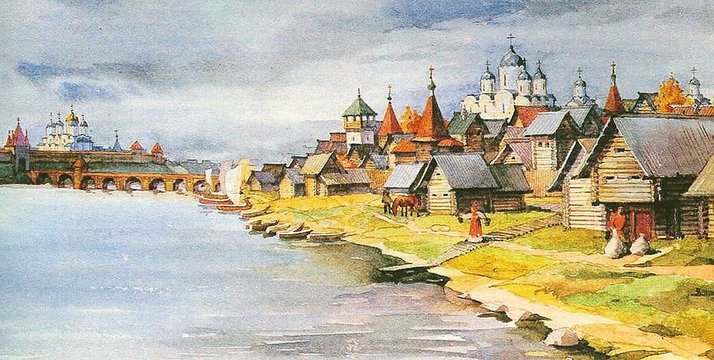 Новгород в XI веке