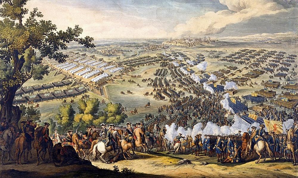 Картина Полтавская битва (большая)