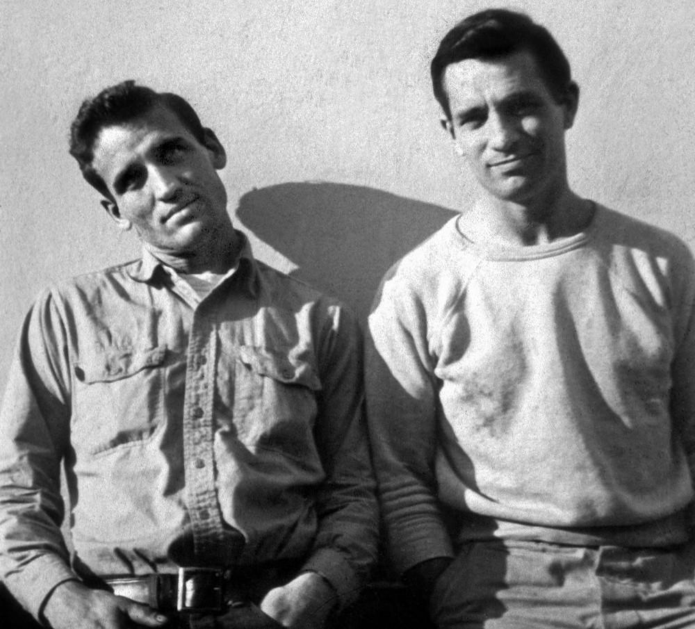Нил Кэссиди и Джек Керуак, совместное фото