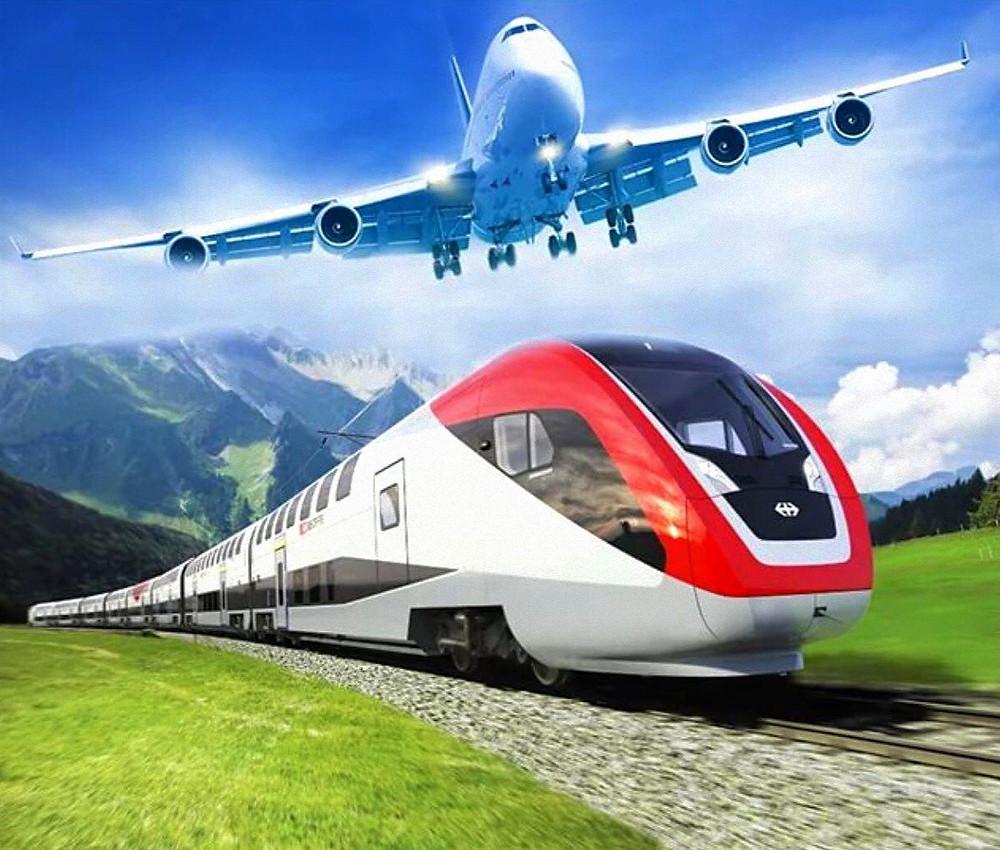 Самолёт и поезд: глобализация