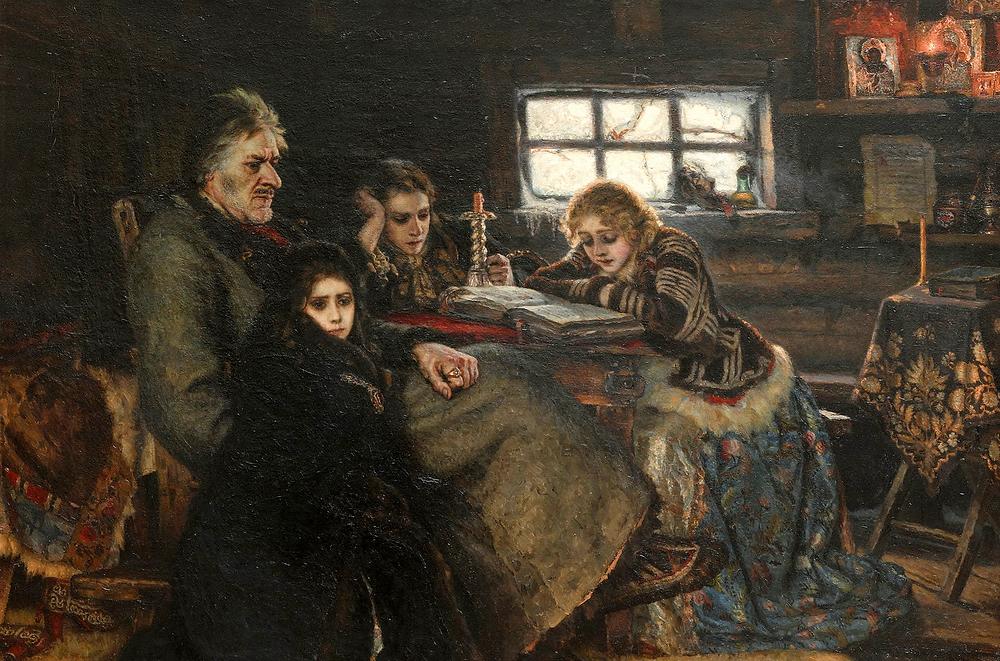Картина «Меншиков в Берёзове» В.И. Сурикова