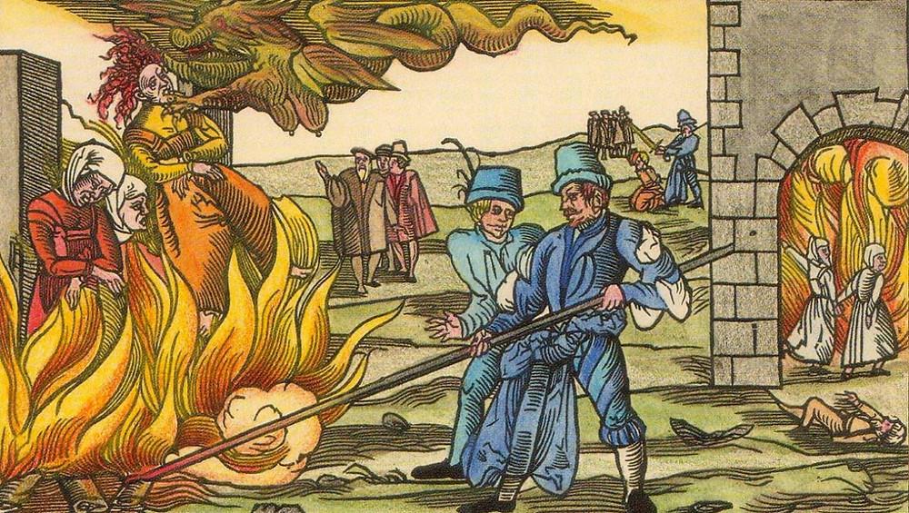 инквизиция костёр