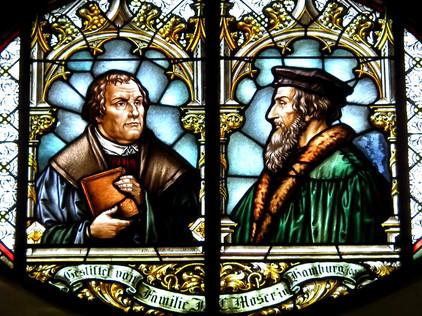 Учения Лютера и Кальвина: общие черты и различия