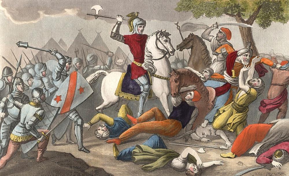 битва при Пуатье, Карл Мартелл, военная реформа