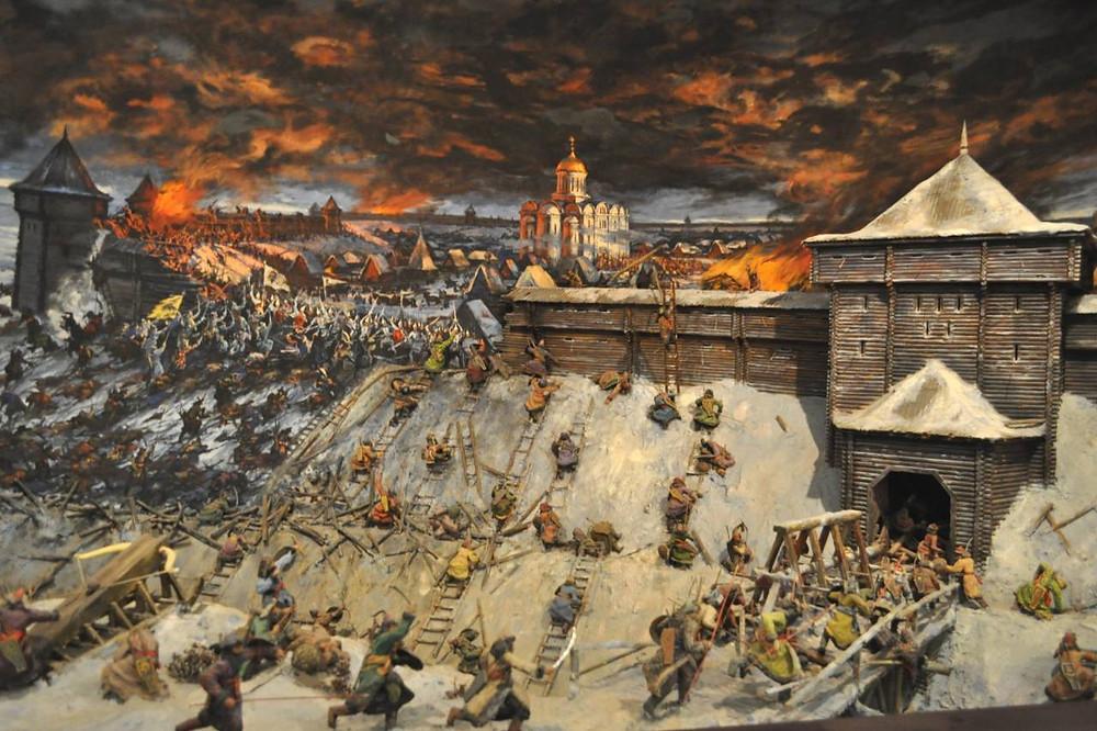 Осада Рязани Батыем