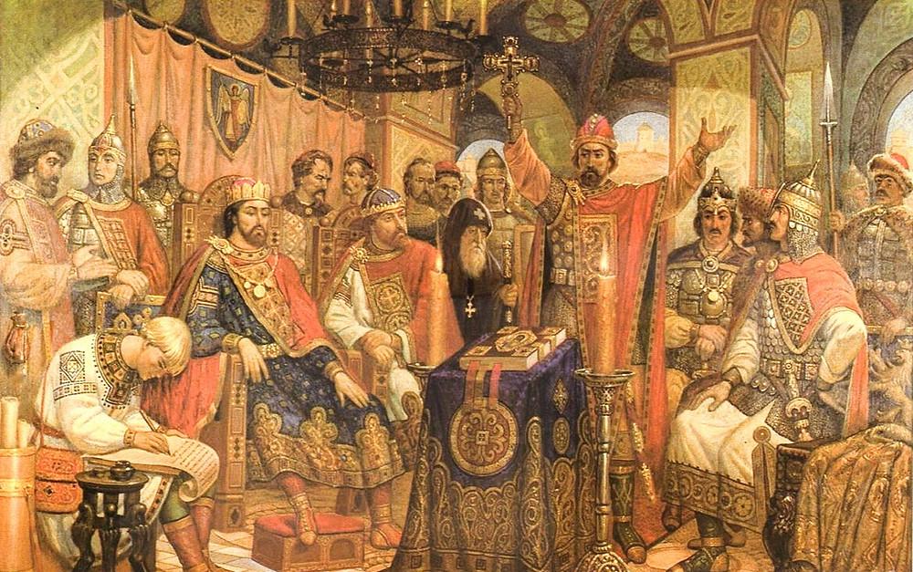 Обсуждение вопросов престолонаследия на Любечском съезде