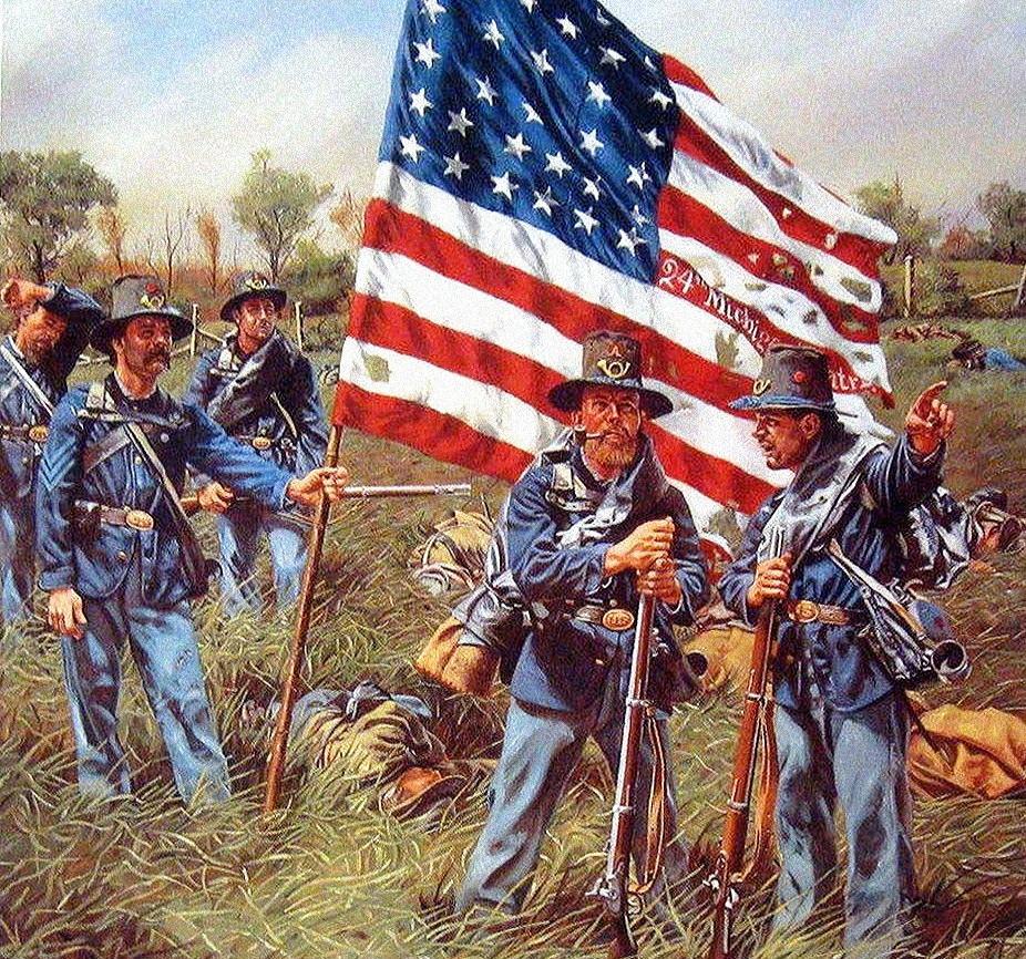 Гражданская война в США: солдаты