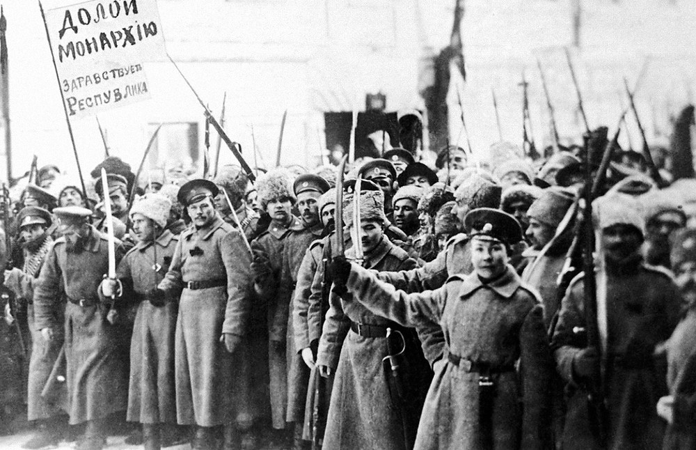 Февральская революция 1917 года, фото