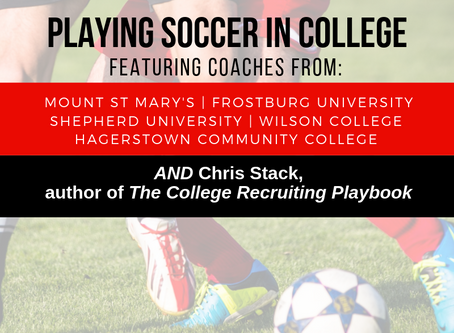 WVFC Panhandle Presents: Playing Soccer in College