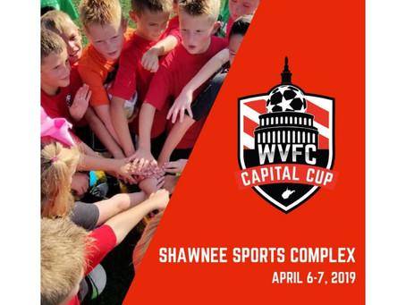 West Virginia Futbol Club Announces Inaugural WVFC Capital Cup