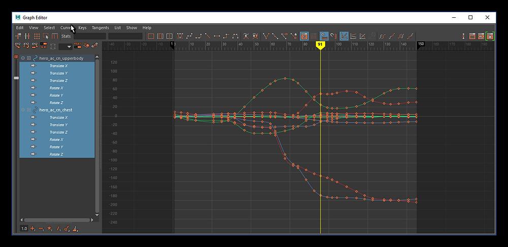 Clean graph editor