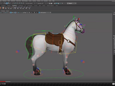 New Horse rig!  Looks pretty cool  . Here's a review from Animation Buffet