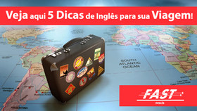 5 dicas de inglês para sua viagem!
