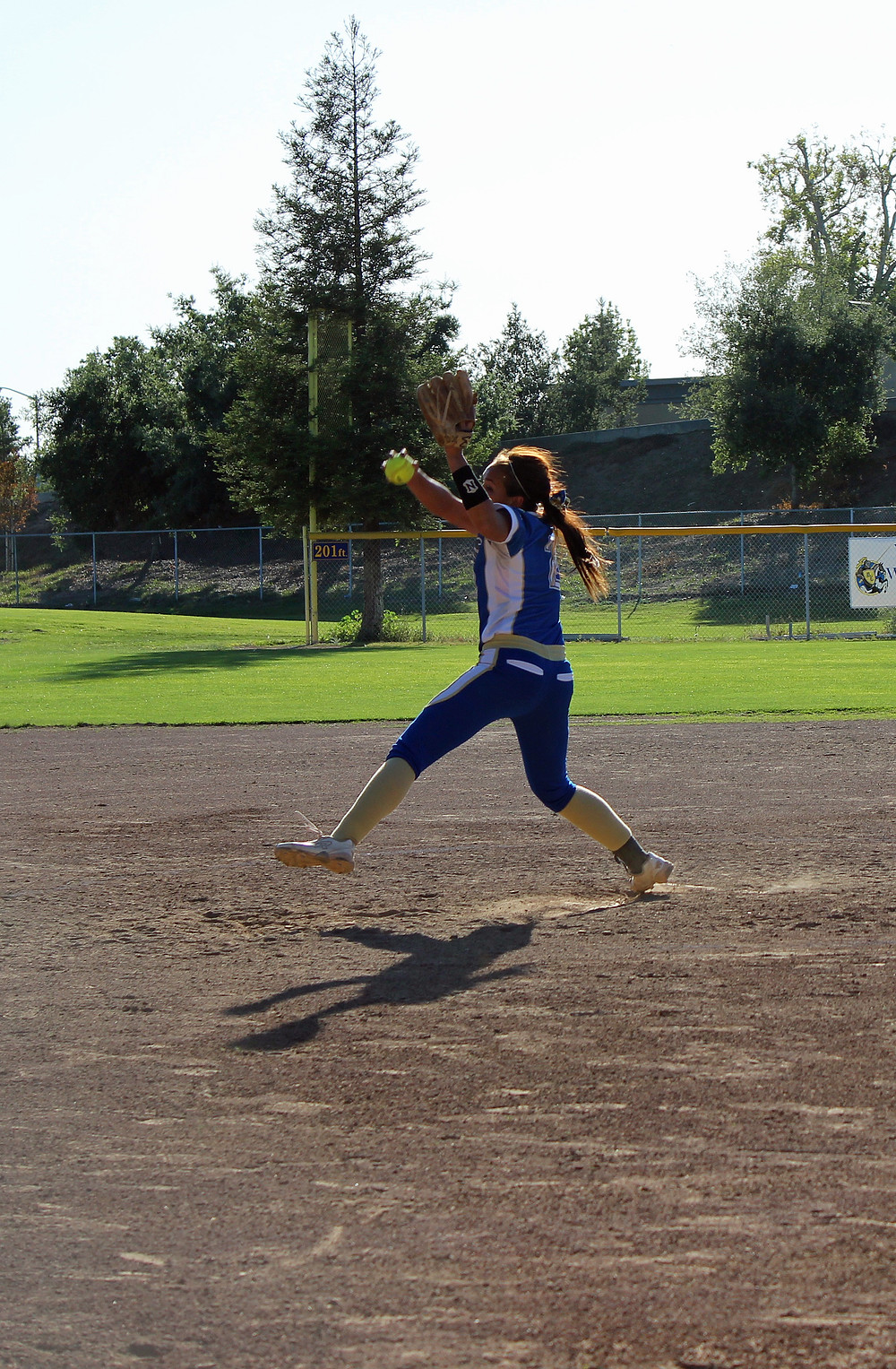 Donaldson Pitching for WHS. Credit: WWSN