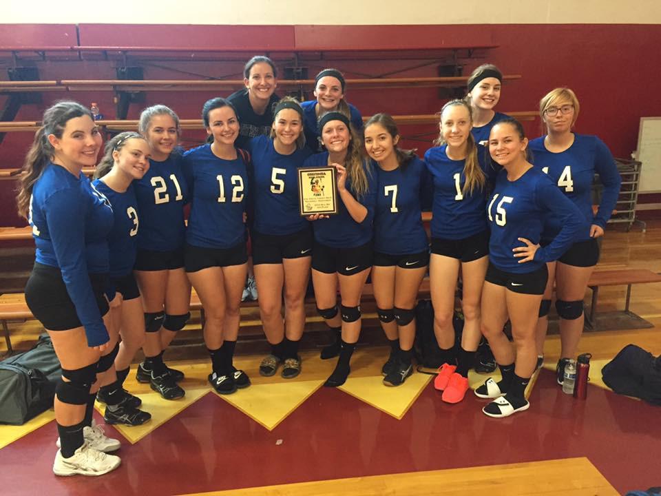 Varsity Volleyball Celebrates 2nd Place At Orestimba