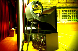 Self-made WE15A horn + JBL4550