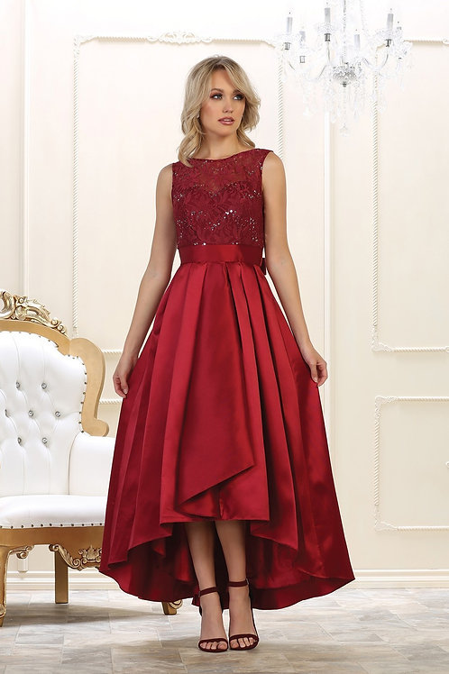 CLASSIQUE 2 HIGH LOW EVENING GOWN