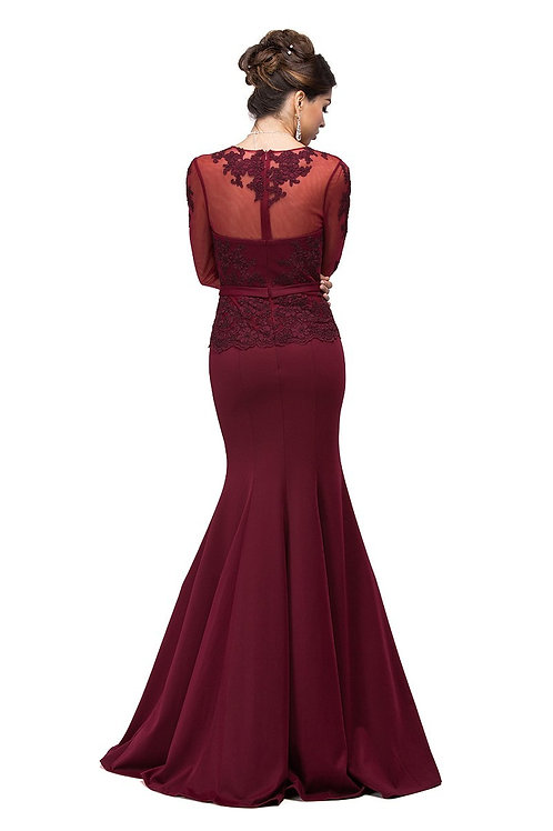 MERMAID EVENING GOWN