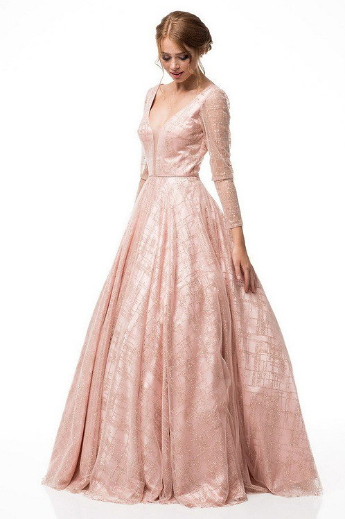 CINDERELLA EVENING GOWN