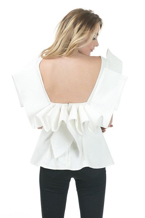 Glam shoulders top