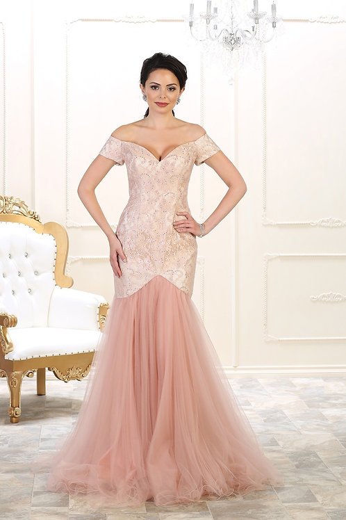 ENGLISH EVENING GOWN