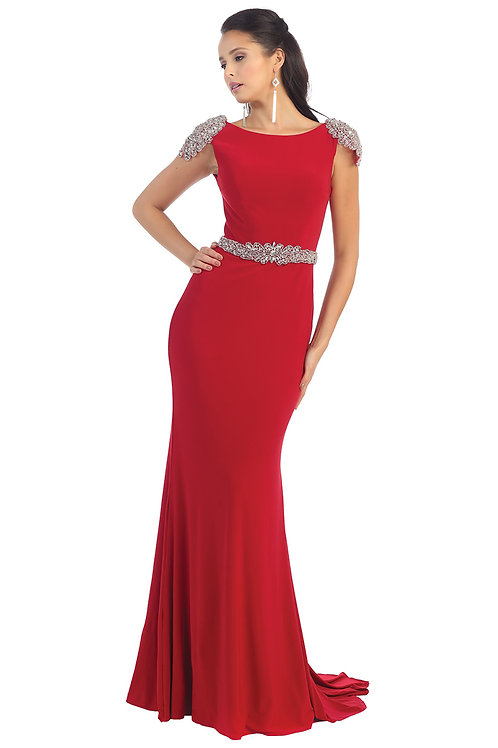 GLAMOROUS MERMAID EVENING GOWN