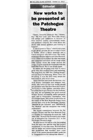Editorial: October 11, 2012