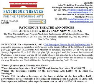 Press Release: September 3, 2013