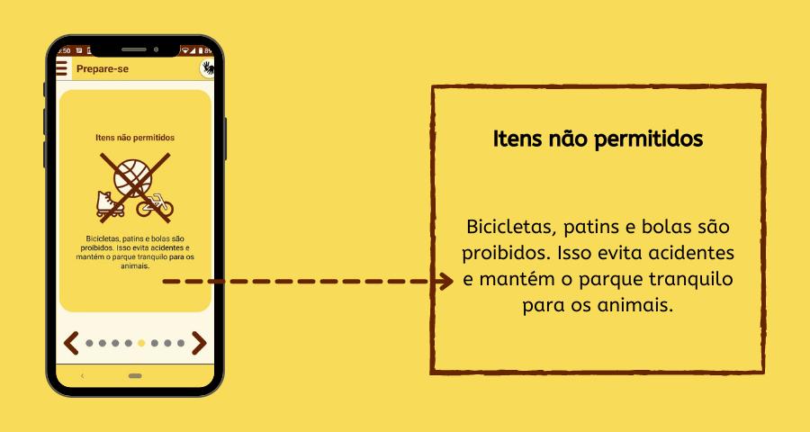 Imagem com celular e caixa de texto.