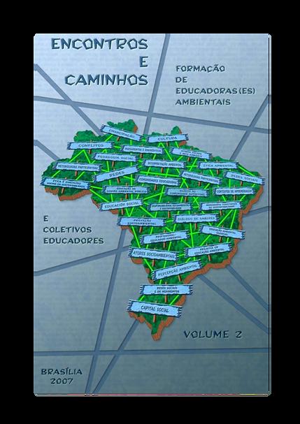 Capa do livro Encontros e Caminhos Vol 2