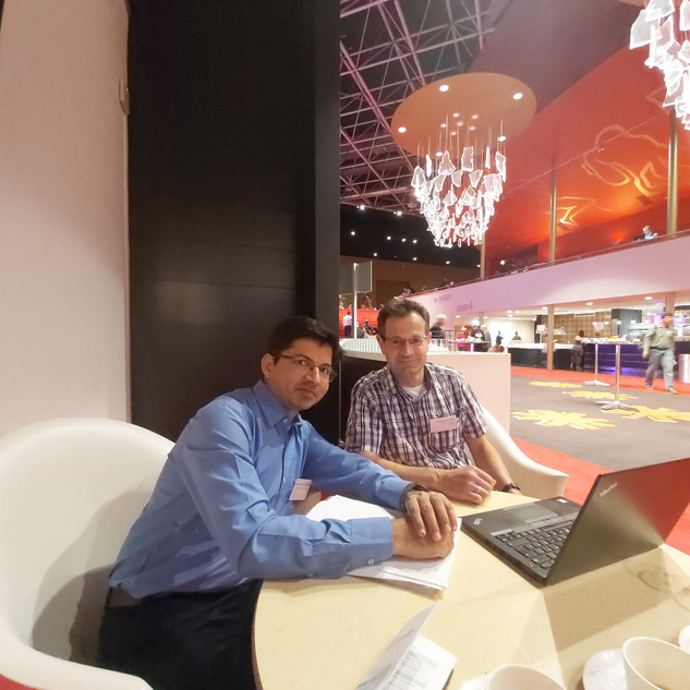 With Prof Micahel Mueller