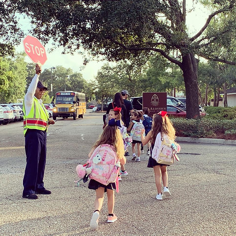 Crossing Guard with Students.JPG