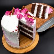 עוגת שוקולד קוקוס טבעונית