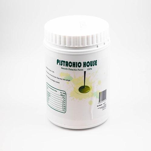 מחית פיסטוק חלקה 100% - 1 קילו
