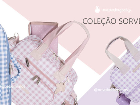 Lançamento Bolsas Masterbag Baby - Coleção Sorvete