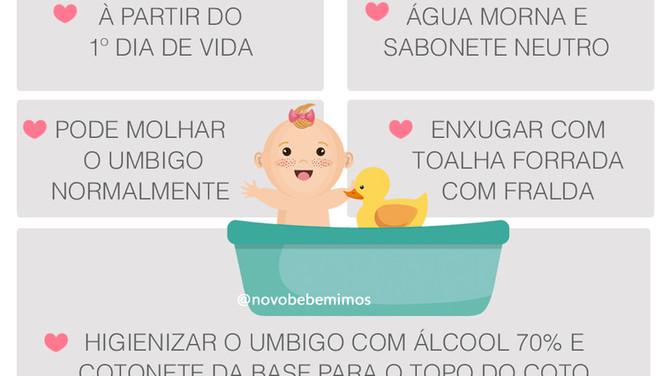 Como Dar Banho no Recém Nascido