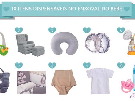 10 Itens do Enxoval do Bebê que Não São Tão Necessários