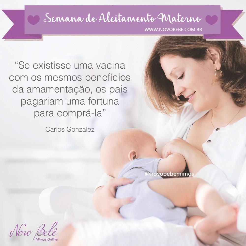 Se existisse uma vacina com os mesmos benfícios da amamentação, os pais pagariam uma fortuna para comprá-la