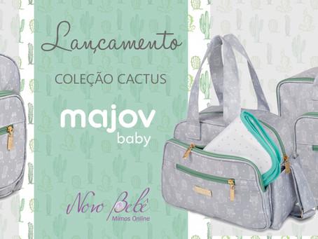Bolsa de Bebê Coleção Cactus - Majov Baby
