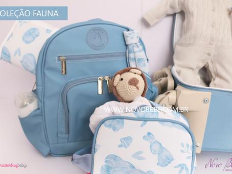 Coleção Fauna - Bolsas Masterbag Baby