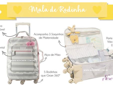 Mala de Rodinha Para Bebês - Masterbag Baby
