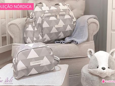 Coleção Nórdica - Bolsas Masterbag Baby