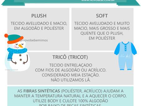 Tecidos de Roupinhas Ideais Para o Inverno