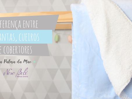 Qual a Diferença Entre Manta, Cueiro e Cobertor