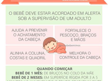 A Importância de Deitar o Bebê de Bruços