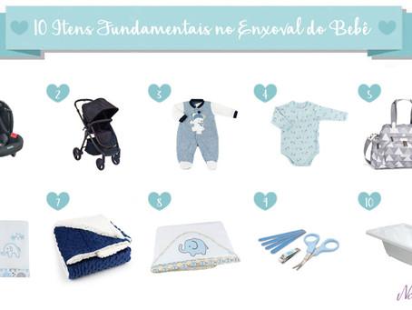 10 Itens Fundamentais no Enxoval do Bebê