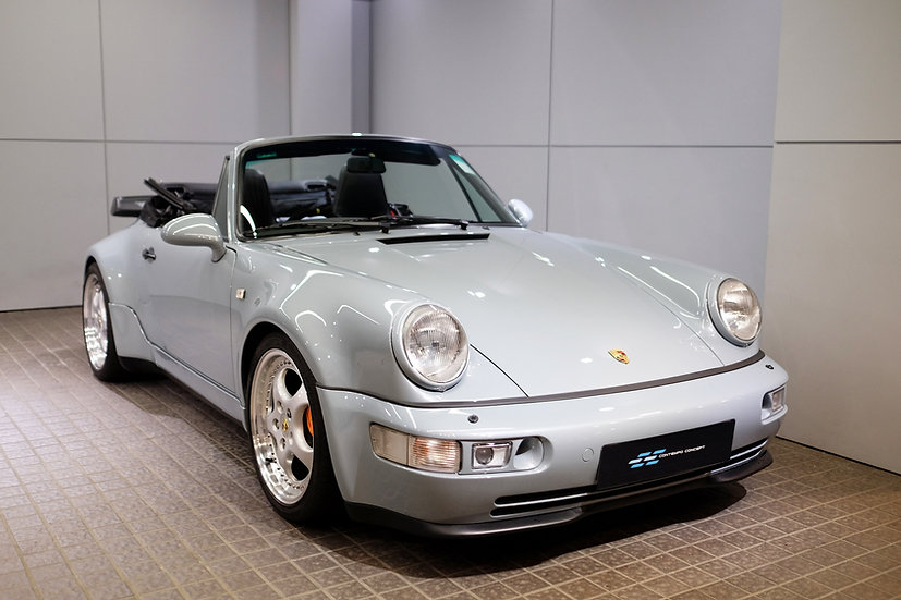 Porsche 964 Cabriolet Widebody Turbo Look