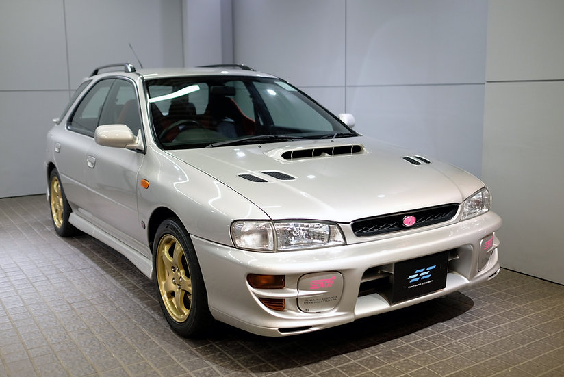 Subaru Impreza Sports Wagon WRX STI Version IV